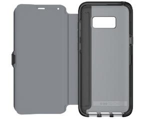 Tech21 Evo Wallet Samsung Galaxy S8 Plus Book Case Zwart