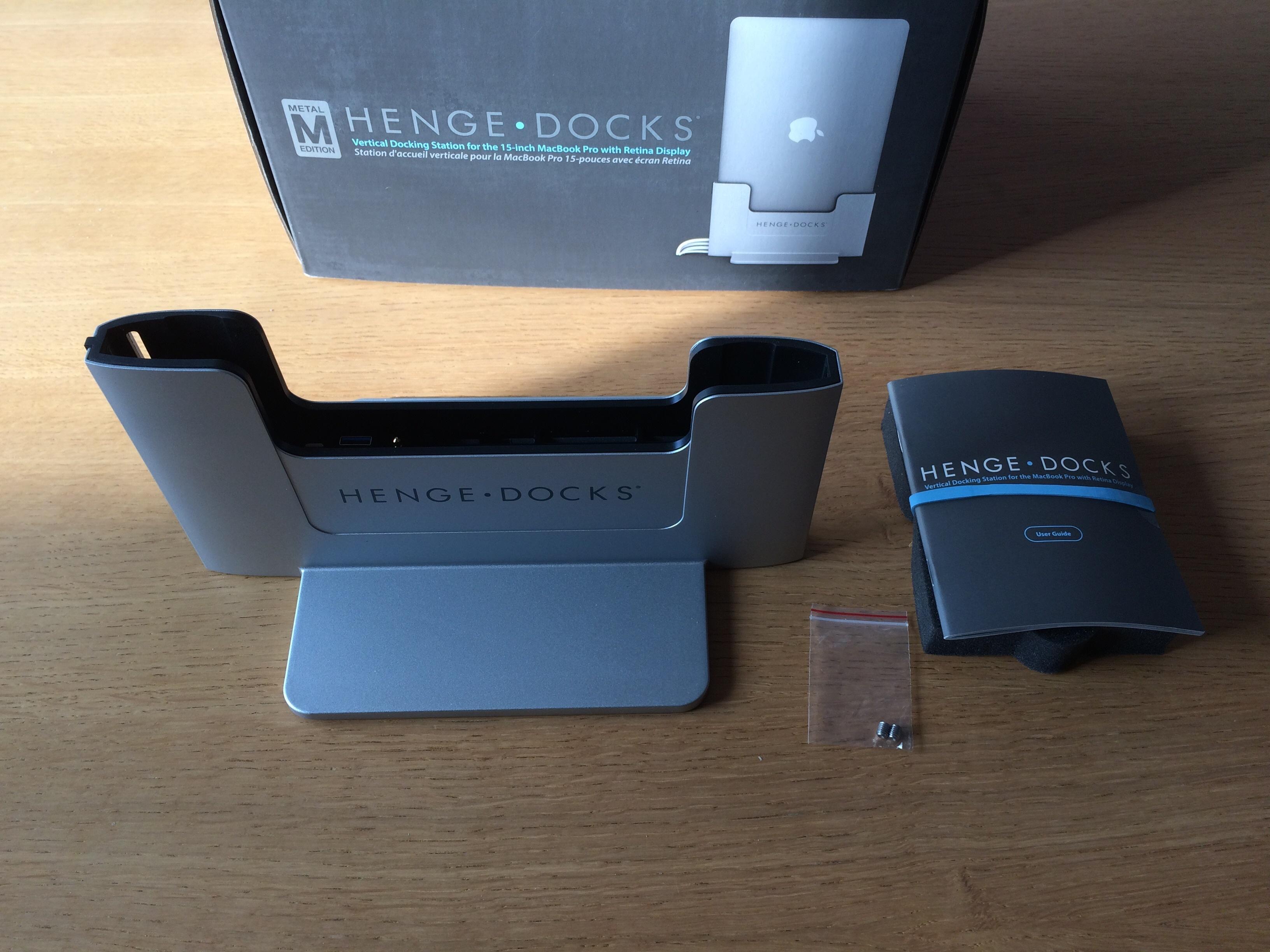 Henge dock unbox 2