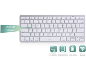 Ewent EW3168 Ultra-slim Bluetooth Keyboard - BE layout (Azerty)
