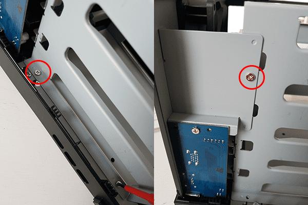 Diskstation DS416Play screws