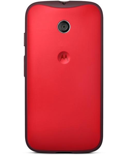 Motorola Moto E Originele Grip Shell Rood