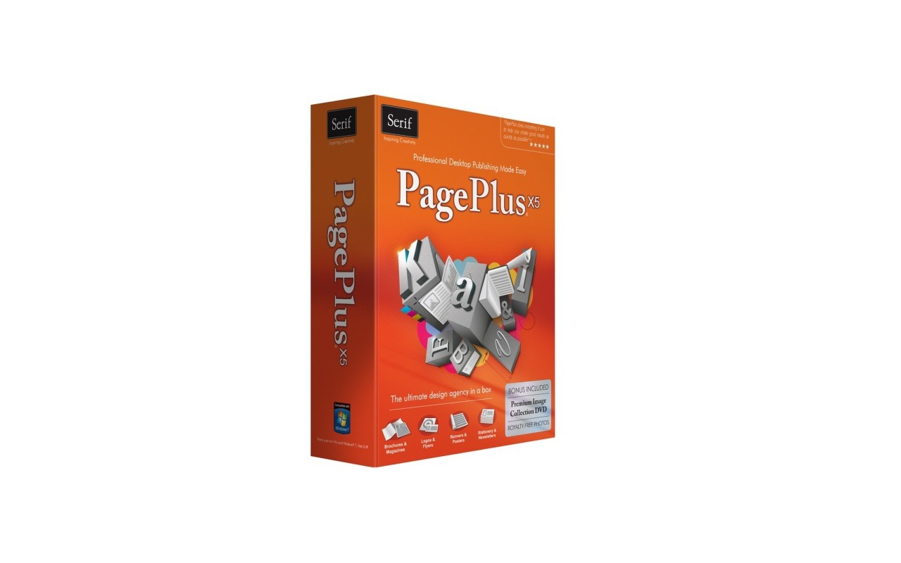 Serif PagePlus X5 retail