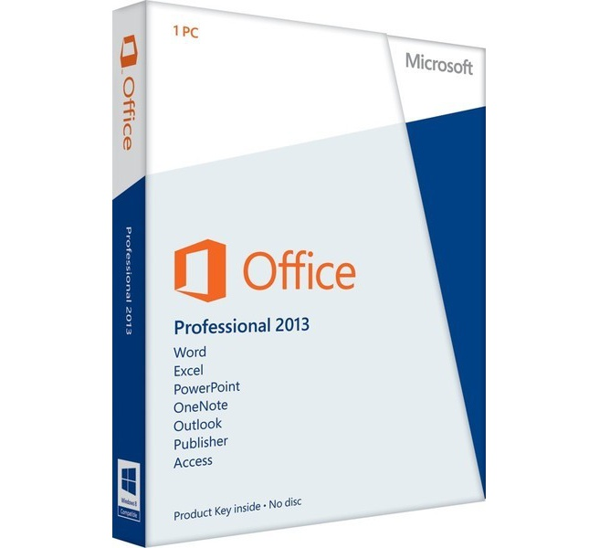 Microsoft Office 2013 Professional UK
