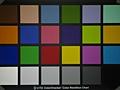 Samsung Galaxy Tab 10.1 - kleurenkaart met flitslicht