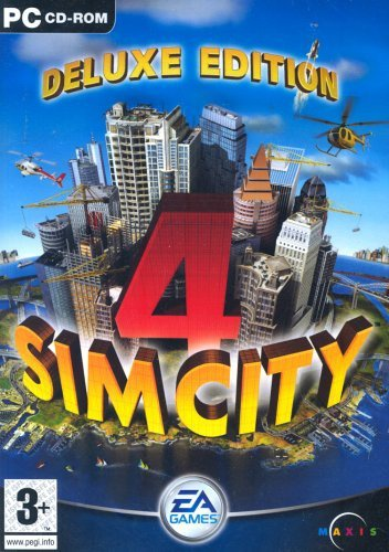 Sim City 4, Deluxe (+ Rush Hour Add-On) (Classic), PC