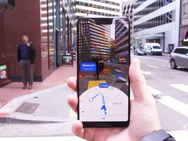 Ar-functie in Google Maps - Afbeeldingen: The Wall Street Journal