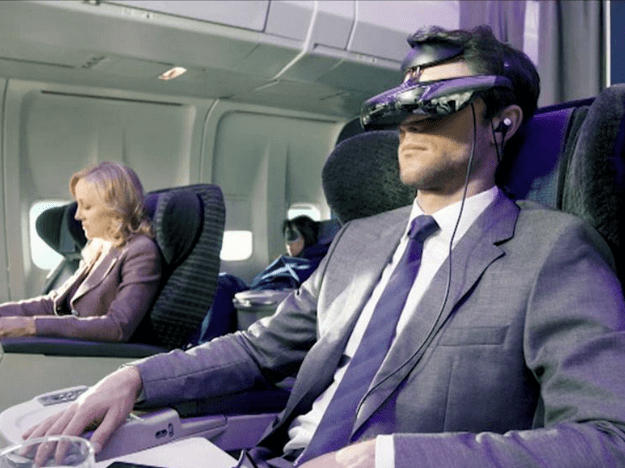 Sony vr-bril - CES 2014