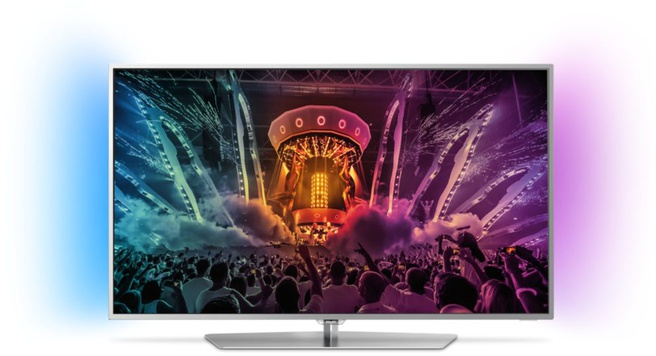 Philips Ultraslanke 4K-TV met Android TV?
