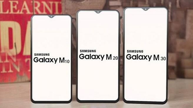 Samsung Galaxy M10, M20 en M30