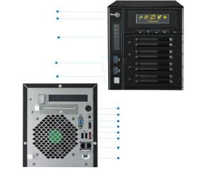 Origin Storage Thecus N4800Eco