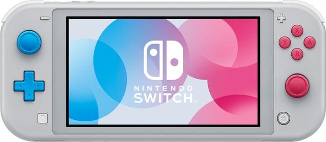 Nintendo Switch Lite Pokemon Shield/Sword Edition Grijs
