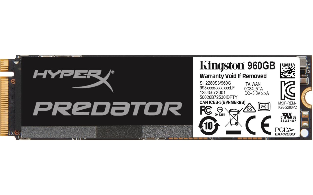 Kingston PCIe SSD 960GB