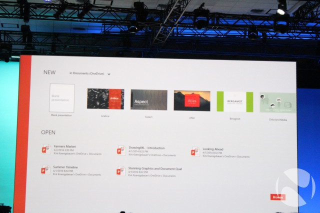 Touch Office Windows Build 2014