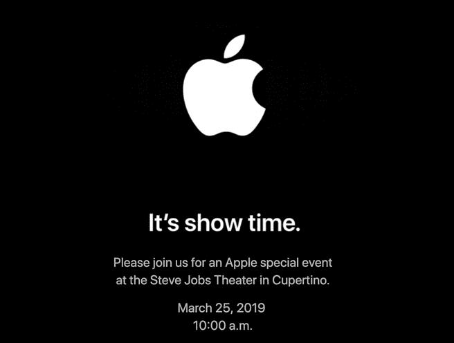 Apple 25 maart evenement