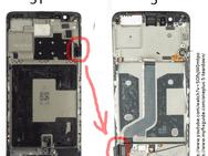 OnePlus 5 gedraaid scherm