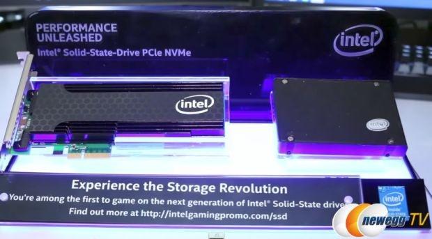 Intel ssd pci-e nmve