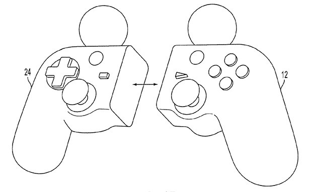 Sony Hybrid Controller patent 2012