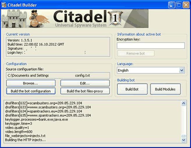 citadel malware