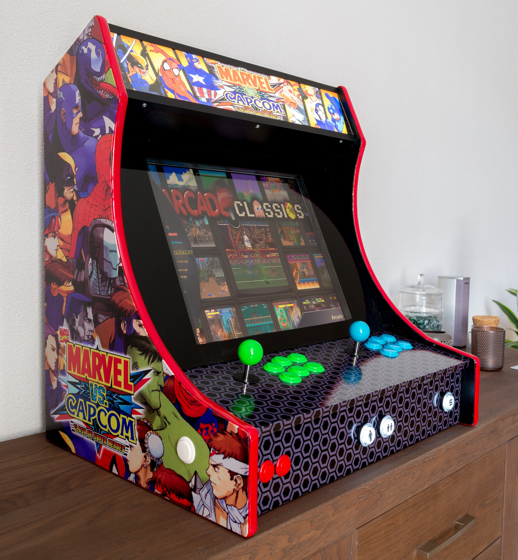 My awesome 2 player Bartop - Collections and Builds - LaunchBox ...