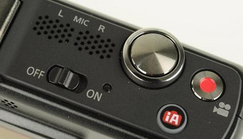 Panasonic Lumix GF2 toppaneel