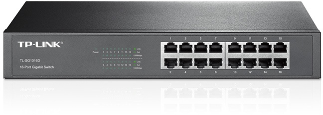 TP-Link TL-SG10016D-16-Port Gigabit Desktop Switch