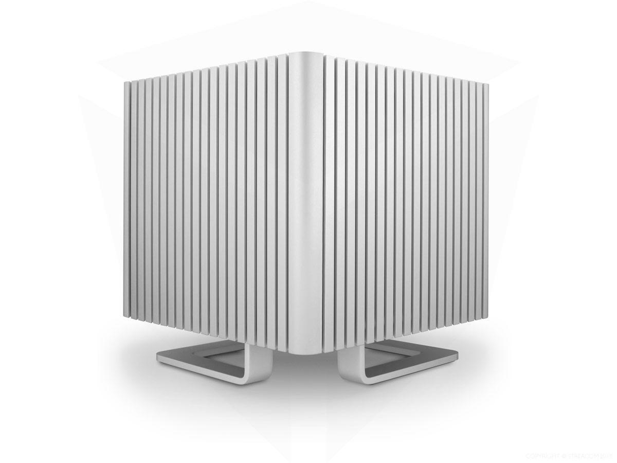 Streacom Toont Vierkante Mini Itx Behuizing Voor Passief