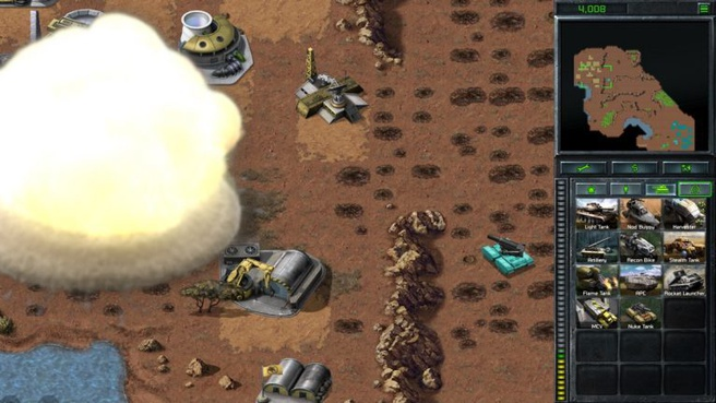 C&C Remastered Nuke Tank