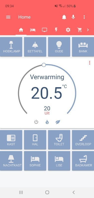 Home Assistant - Open source Python3 home automation - Duurzame