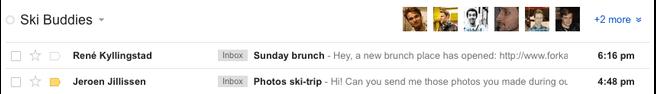 Google Circles Gmail