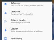 Screenshot Nokia 8 met Android 7.1.1