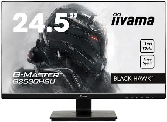 Iiyama G-Master Black Hawk G2530HSU-B1 Zwart