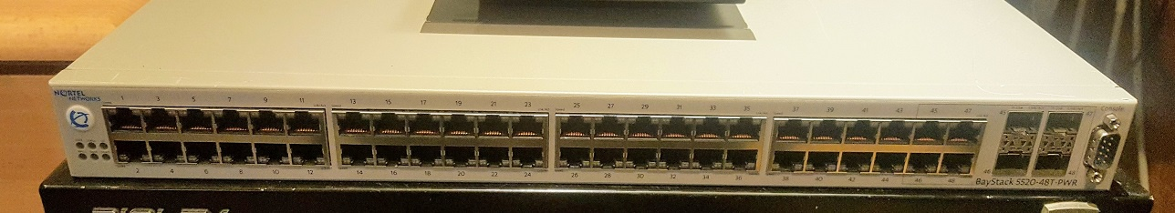 The Nortel 5520-48T-PWR
