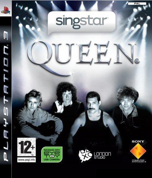 Packshot voor SingStar Queen
