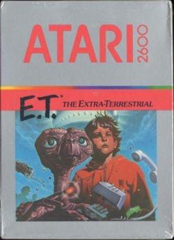 E.T. (Atari 2600) box art