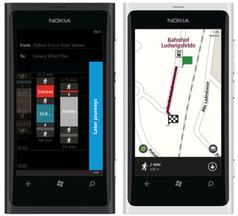 Nokia OV op Lumia 800