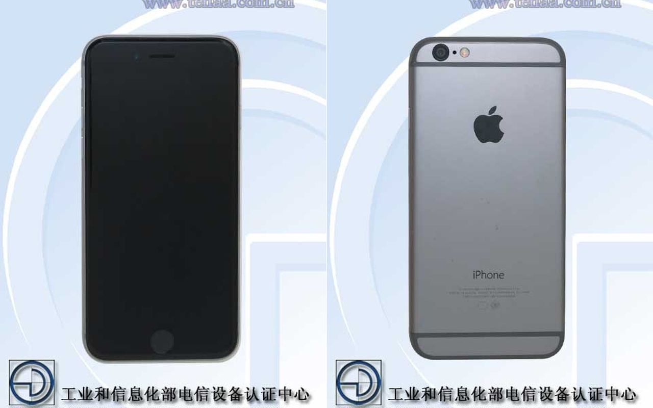 iPhone 6 Tenaa
