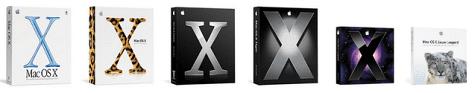 Mac OS X boxes