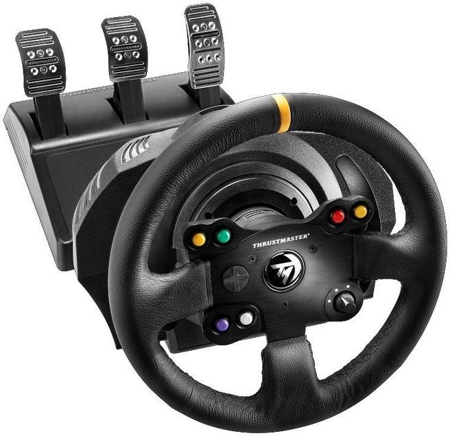 thrustmaster tx racing wheel leather edition zwart. Black Bedroom Furniture Sets. Home Design Ideas