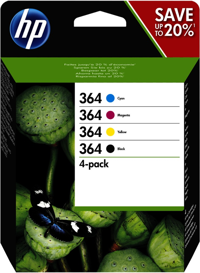 HP 364 Combo Value Pack
