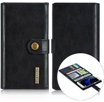 Echt Leren Portemonnee.Samsung Galaxy S7 Echt Leren Portemonnee Hoesje Zwart Kenmerken