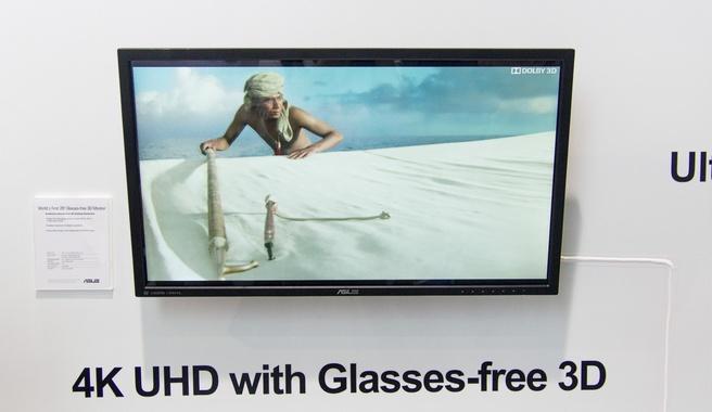 """Asus 28"""" 3d-monitor zonder bril"""