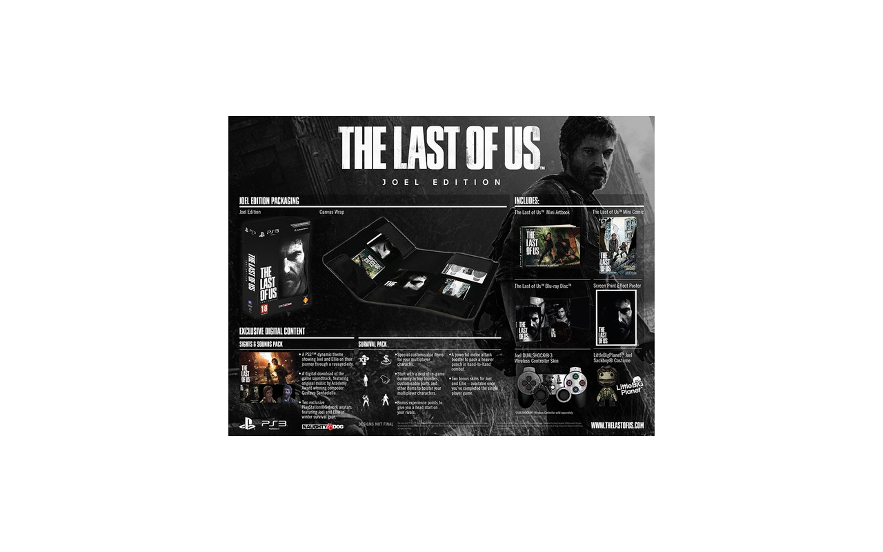 The Last Of Us Joel Edition PlayStation 3