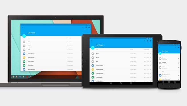 Nexus 9 tussen Chromebook Pixel en Nexus 5