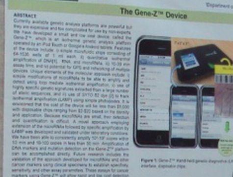 Gene Z, kankerdetector met iOS- en Android-app