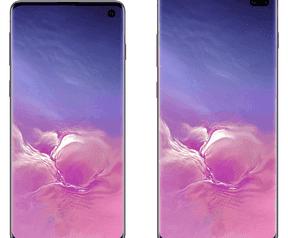Samsung Galaxy S10-renders