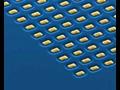 Voorbeeld van antennes op nanoschaal