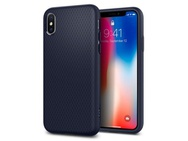 Goedkoopste Spigen Apple iPhone X Hoesje Liquid Air  Blauw
