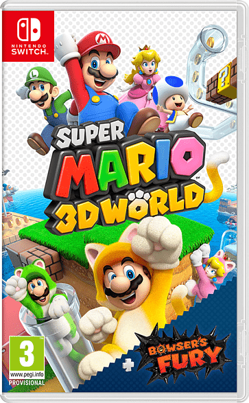 Super Mario 3D World + Bowser's Fury, Switch