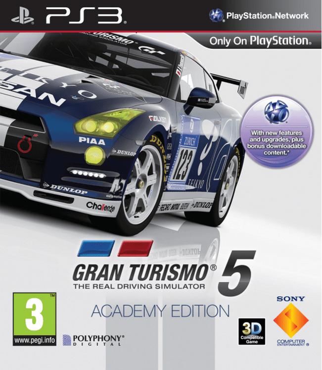 Gran Turismo 5 Academy Edition PlayStation 3