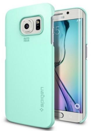 Spigen Thin Fit Samsung Galaxy S6 edge Case  Mint